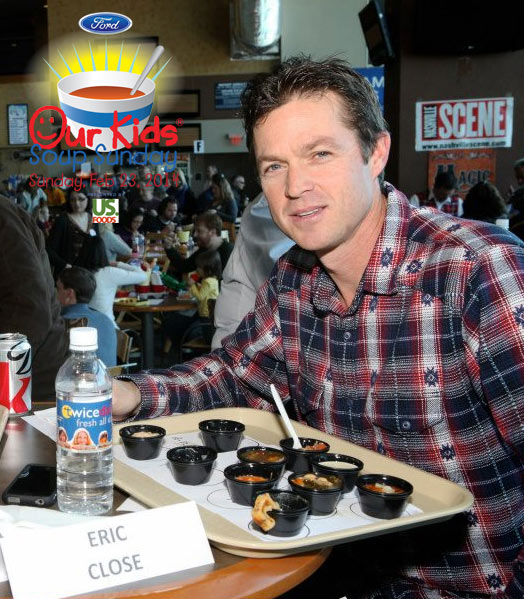 Eric Close, actor at Our Kids Soup Sunday