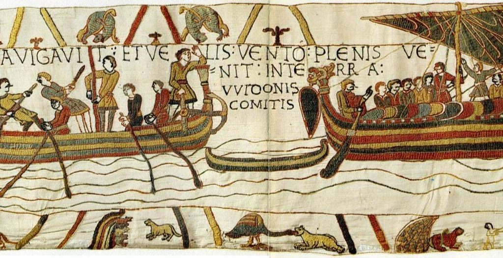 The Bayeux Tapestry (a tiny portion)
