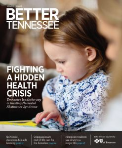 Better Tennessee magazine cover