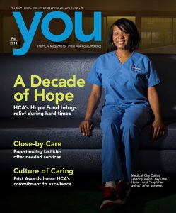 HCA You magazine cover