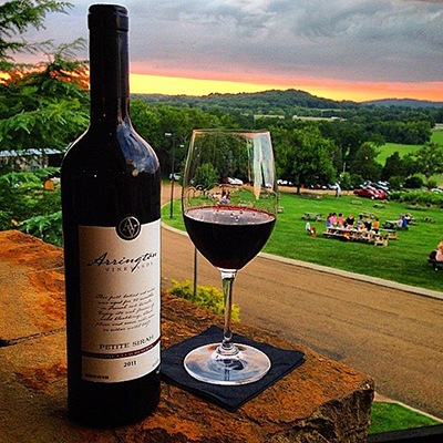 Photo courtesy of Arrington Vineyards' website.