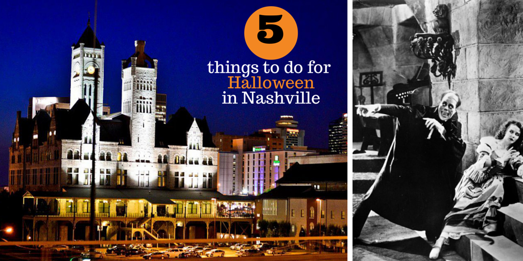 5 things to do for halloween in nashville graphic