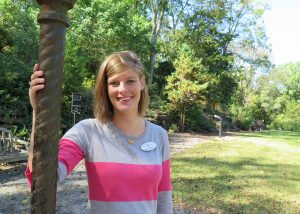 Cheekwood Youth & Community Manager Kelly McGinnis Terrell stands outside