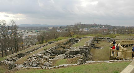 Fort Negley is a magnet for Civil War and history buffs. Photo: Battle of Nashville Preservation Society.