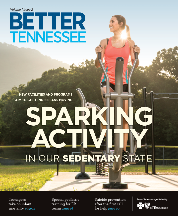 Better Tennessee Magazine cover Volume 1 Issue 2