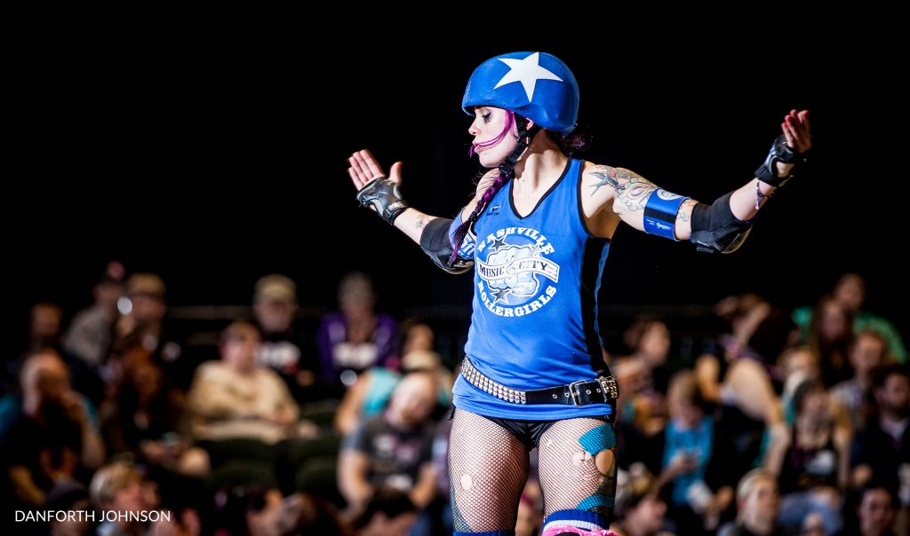 Nashville Roller Girl Lady Fury