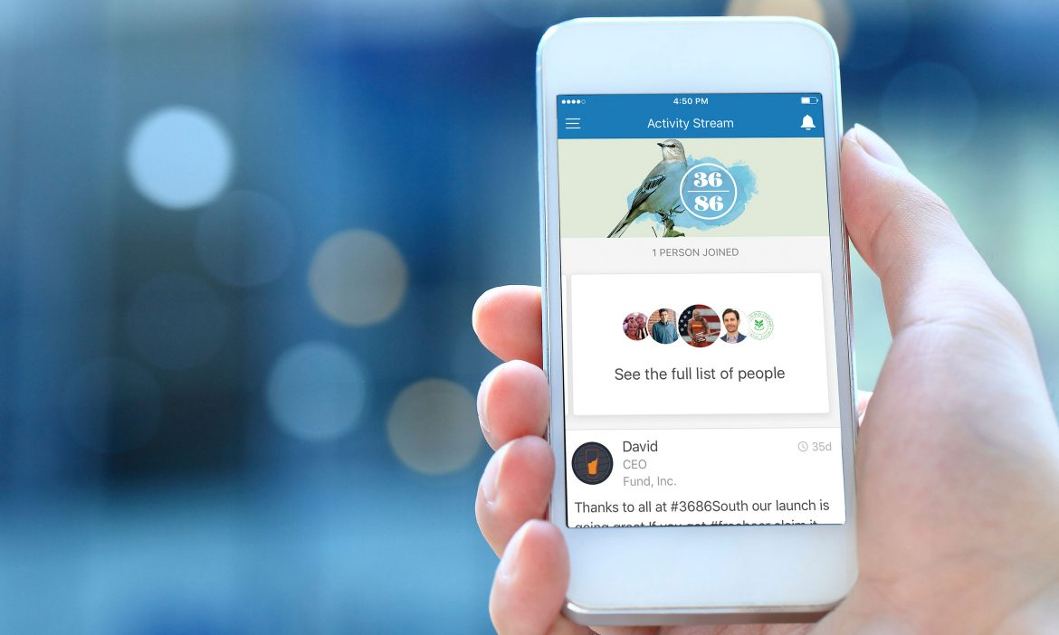 Build an event app that spurs real-time interaction among attendees