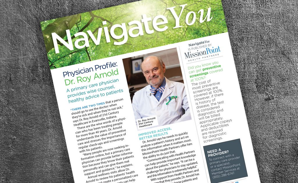 Navigate You, a publication for MissioinPoint Health Partners