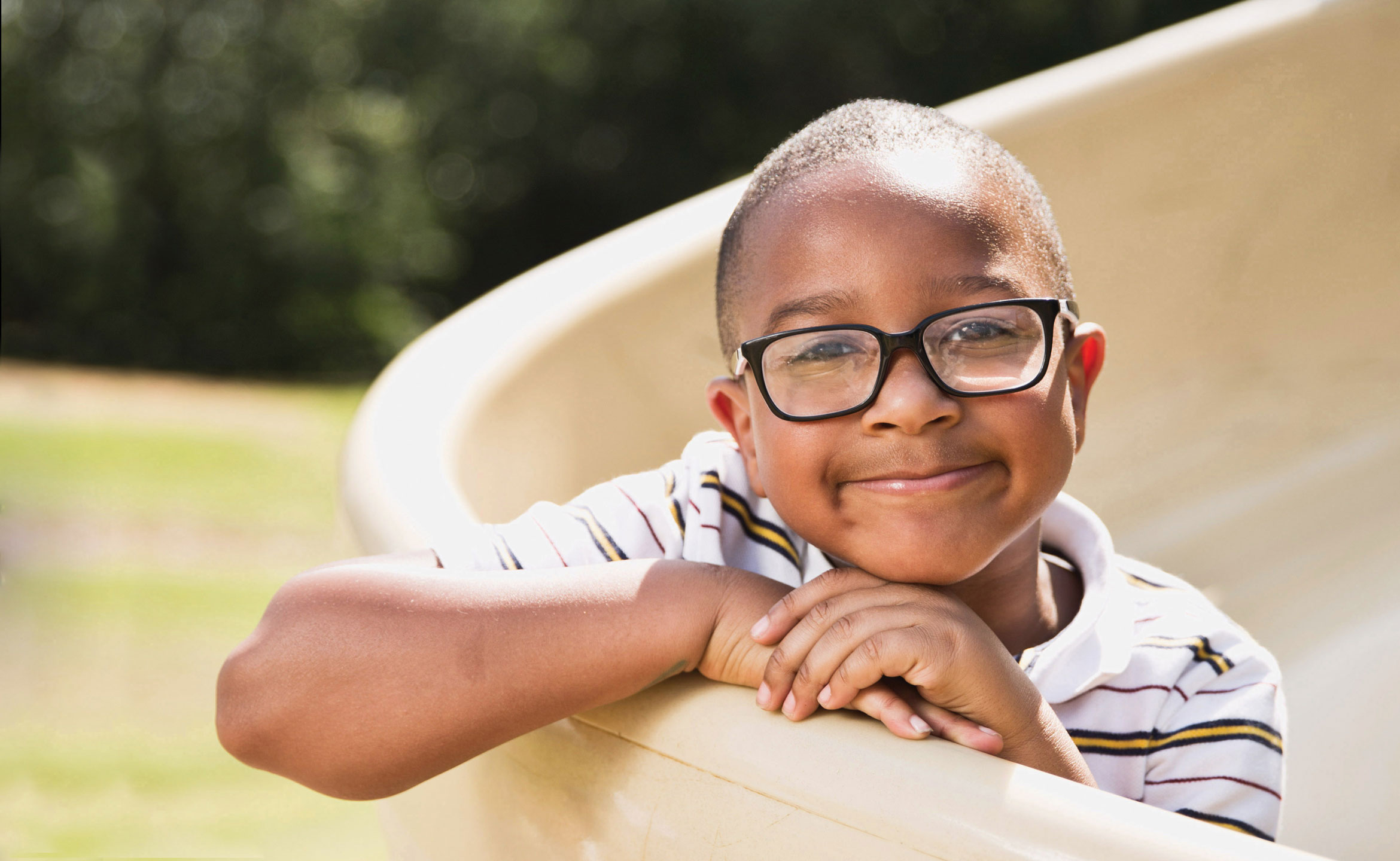 cute kid with glasses - parthenon publishing
