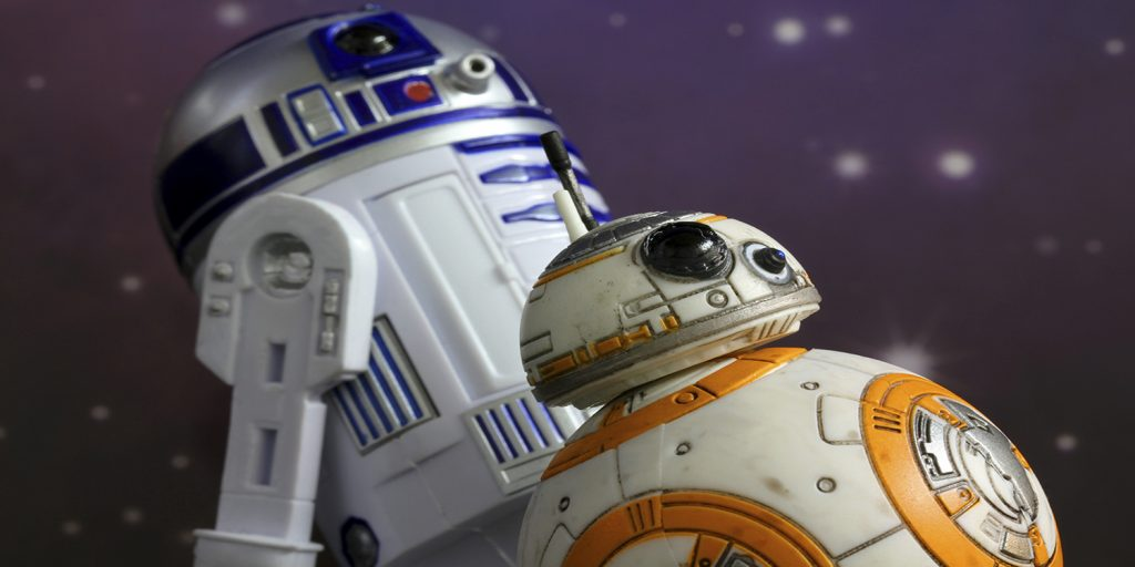 Star Wars R2D2 and BB8