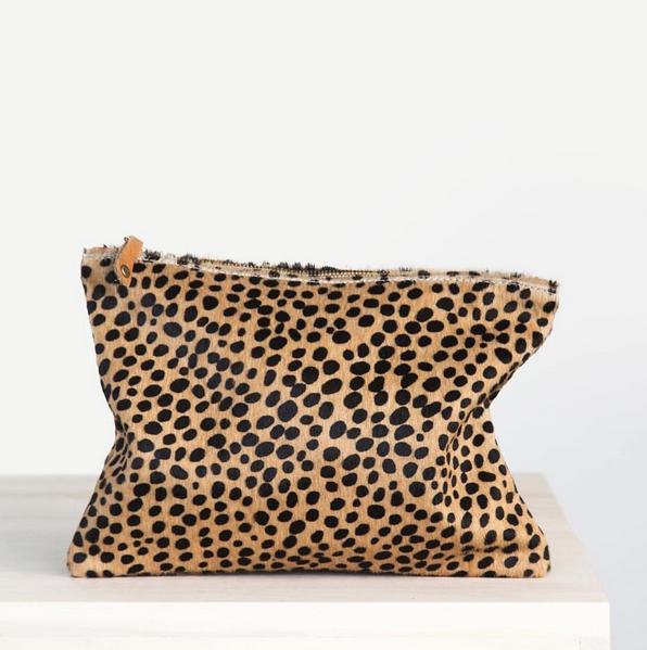 @ceri_hoover Waller Clutch in Cheetah