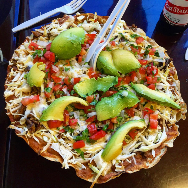 The Tlayudo, or Mexican Pizza