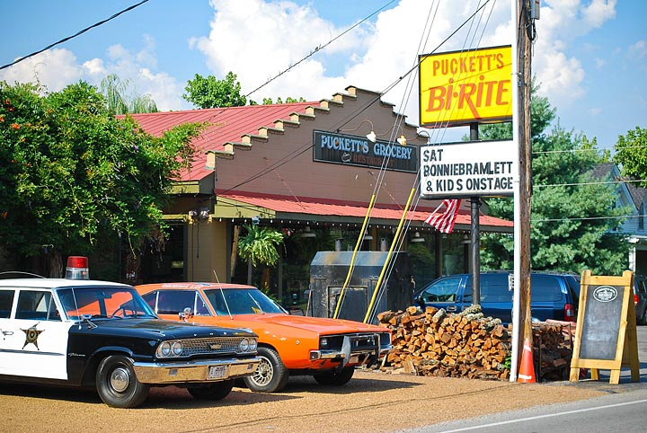 Puckett's Grocery in Leiper's Fork Exterior