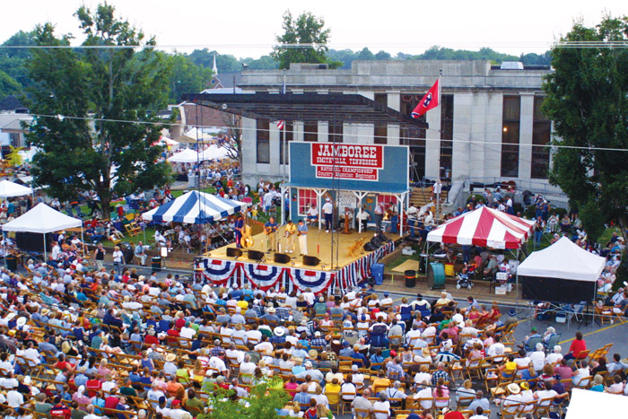 Smithville Fidders' Jamboree & Crafts Festival main stage