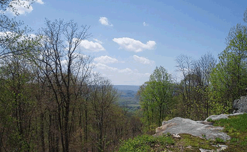 View from Sewanee Perimeter-Trail