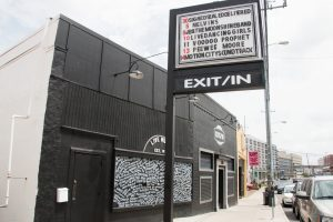 The exterior of Nashville music venue Exit/In
