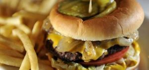 brown's diner cheeseburger