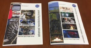 Two informational booklets on manufacturing NASA provided.